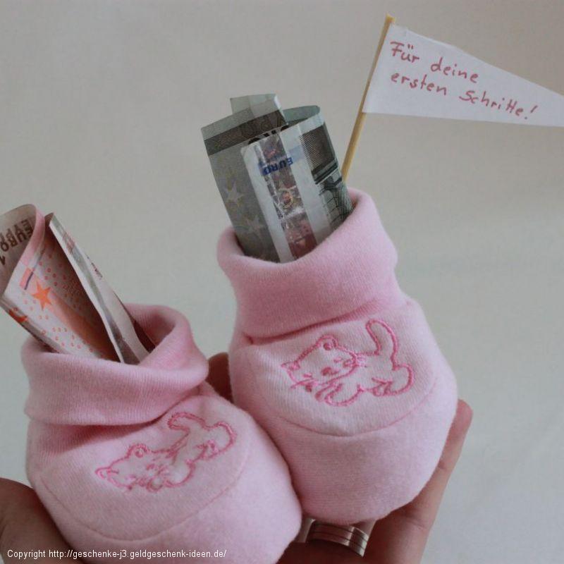 Anleitung Babyschuhe